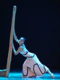 寻找支持差事入迷宫现代舞蹈舞蹈动作设计者玛莎・葛兰姆 库存照片