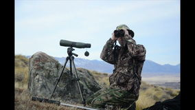 寻找猎获的动物 影视素材