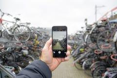 寻找自行车? 免版税库存照片