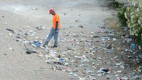 寻找被浪费的事在拉斯韦加斯大道附近,美国的未知的人, 股票录像