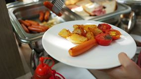 承办酒席或早餐自助餐在旅馆 股票录像