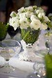 承办酒席接收设置婚礼 免版税库存照片