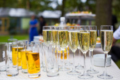 承办酒席宴会桌,承办酒席,自助餐,玻璃用汁液, ch 库存照片