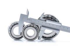 轴承测量设备 图库摄影