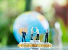 承诺、协议、投资和合作概念 库存图片