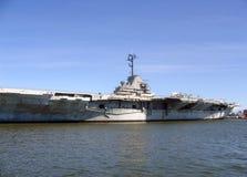 承运人海军yorktown 图库摄影