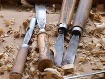 技巧木头 库存照片