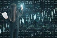 技术、软件和经济概念 免版税库存图片