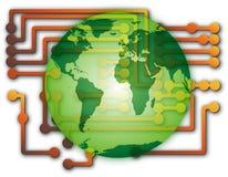 技术世界 免版税库存图片