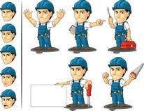 技术员或安装工吉祥人2 免版税库存图片