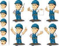 技术员或安装工吉祥人3 免版税库存图片