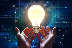 技术和创新概念 库存图片
