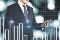 技术和经济概念 图库摄影