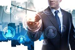 技术和财务概念 免版税库存照片