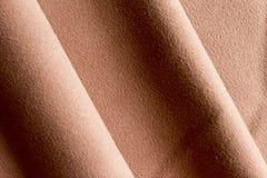 技术工作褐色的织品 免版税库存照片