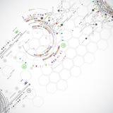 技术抽象背景 免版税图库摄影