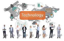 技术数字式演变创新概念 免版税库存图片