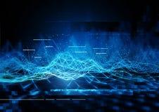 技术数据通信 皇族释放例证