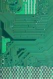 技术背景绿色计算机主板表面  库存照片