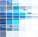 技术背景,全球企业解答想法  免版税图库摄影