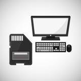 技术设计 媒介象 五颜六色的例证,传染媒介 图库摄影