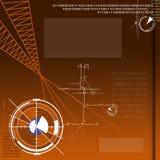 技术项目 免版税库存照片