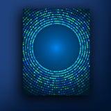 技术颜色背景 分子、光原子和闪光  医学,生物工艺学 通信,社会网络,谢米 库存图片