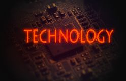 技术 皇族释放例证