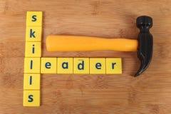 技能和领导 免版税库存图片