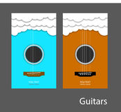 1把吉他 免版税库存图片