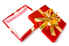 把圣诞节装箱 免版税库存照片
