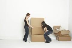 把增强的空间装箱 免版税库存图片