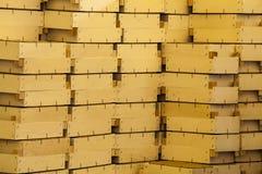 把木装箱 免版税图库摄影