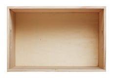 把木头装箱 免版税库存照片