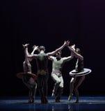 把柄古典芭蕾` Austen汇集` 图库摄影