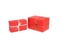 把查出的礼品装箱 图库摄影