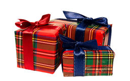 把礼品三装箱 库存图片
