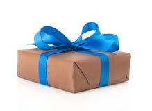 把礼品丝带装箱 免版税图库摄影