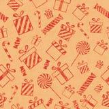 把礼品模式装箱 免版税图库摄影