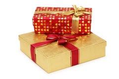 把礼品装箱查出二 免版税库存图片