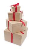 把礼品装箱 免版税图库摄影
