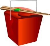 把红色装箱 库存图片