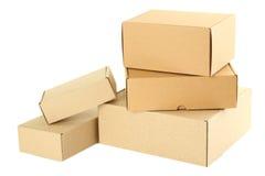 把纸板二装箱 免版税库存图片