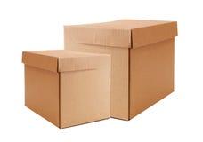 把纸板图象查出的范围白色xxxl装箱 免版税库存照片
