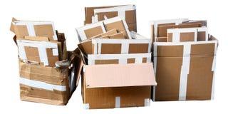 把纸板装箱 免版税图库摄影