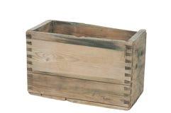 把老木装箱 免版税图库摄影