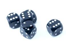 把赌博切成小方块 免版税库存照片