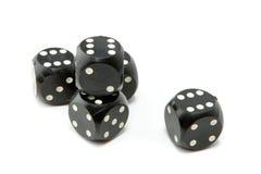 把赌博切成小方块 免版税图库摄影