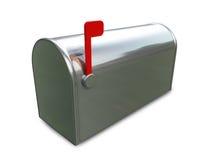 把邮件装箱 库存照片