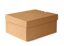 把carboard礼品查出的白色装箱 库存图片